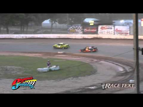 Seymour Speedway - June 29, 2014 - 4 Cylinder feature