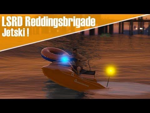 GTA 5 LSRD reddingsbrigade - Dienst met de Jetski !