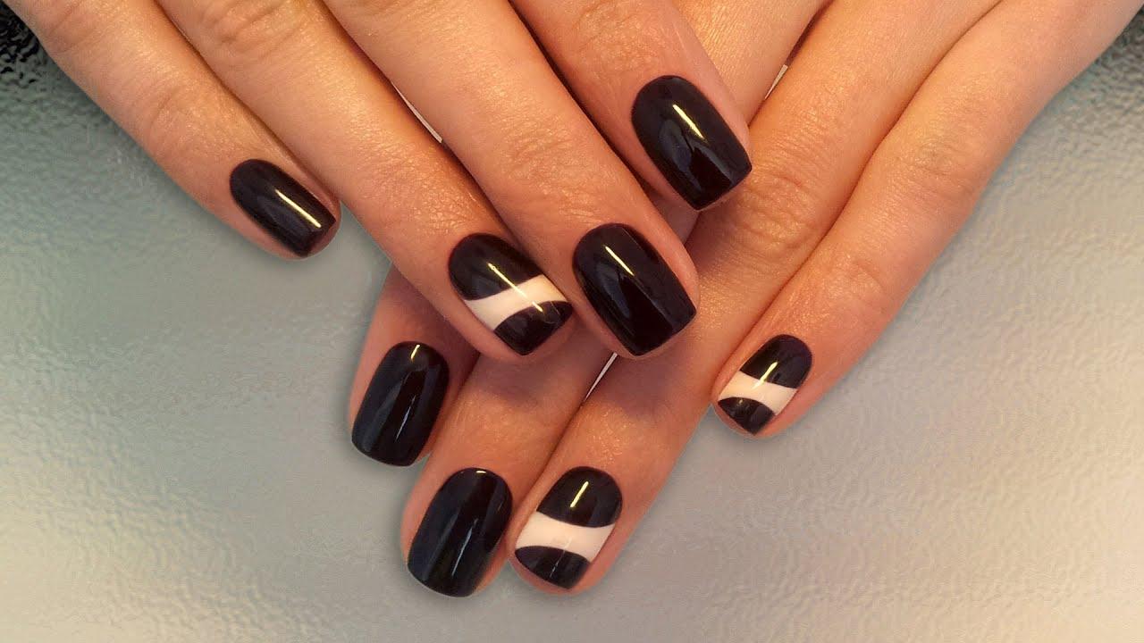 Дизайн ногтей шеллаком (фото) - фото и описание примера 63