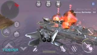 GUNSHIP BATTLE : Fleet Attack - F-22 Raptor