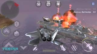 GUNSHIP BATTLE : Fleet Attack - F-22 Raptor