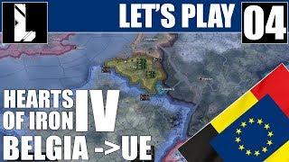 Szykujemy się do wojny | Zagrajmy w Hearts of Iron 4 | Unia Europejska | 04