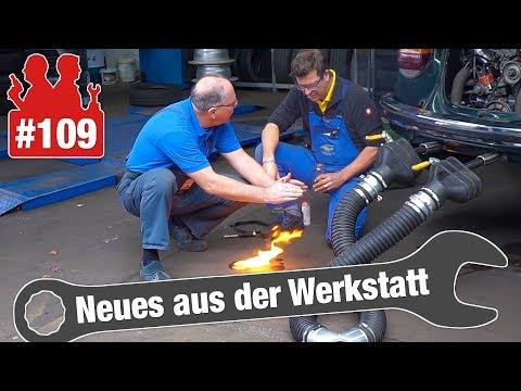 Docs machen den Test: Wird Benzin schlecht? | VW-Bus: Hupe lässt Relais abfackeln