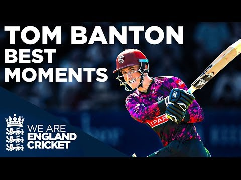 Best Of Tom Banton! | One To Watch | England Cricket 2019