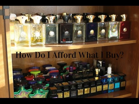 How I Afford All My Cologne / Fragrances