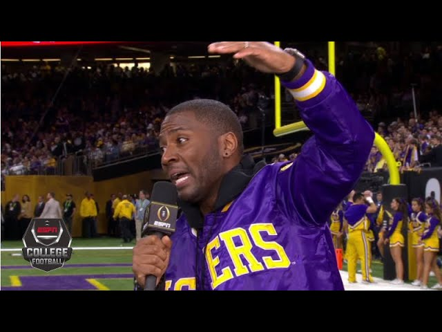 LSU's offense is 'greater than the greatest of the great of all time' -Ryan Clark | College Football
