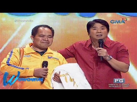 Wowowin: Emotional reunion of Willie Revillame and Bentong