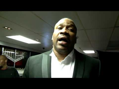IBA Boxing - Benny May v Vanny Purdy Pre Fight - with Tim Witherspoon