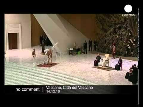 Topless men dancing for Pope Benedict XVI inside Vatican: is he Gay ?
