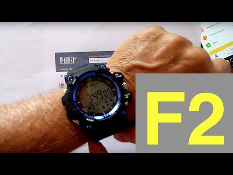 No.1 F2 DIGITAL Smartwatch: Unboxing and 1st Look
