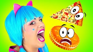 Food Shape Song For Preschool Kids! Learning the Shapes and Have Fun - Nursery Rhymes