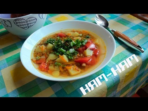 Суп овощной, рецепты с фото на : 388