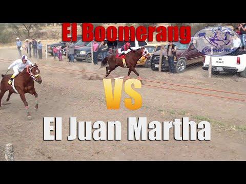 CARRIL LA TIRA - CARRERA DE CABALLOS - EL JUAN MARTHA VS EL BOOMERANG