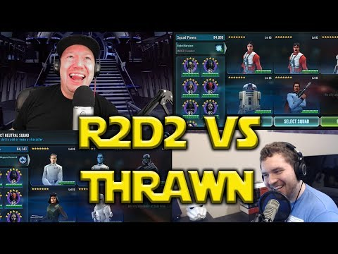 Star Wars: Galaxy Of Heroes - Zeta R2D2 VS Thrawn