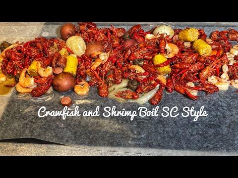 Crawfish And Shrimp Boil The SC Low Country Way #crawfishboil