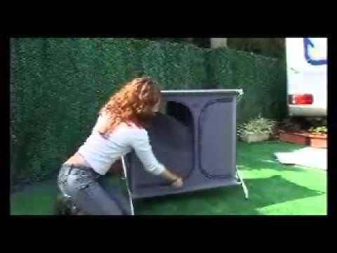Faltschrank al 105 youtube for Outdoor küchenschrank