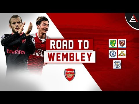 Arsenal FC - ROAD TO WEMBLEY 17/18 (English Commentary)