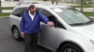 Certified Used 2012 Honda Odyssey EX for sale at Honda Cars of Bellevue...an Omaha Honda Dealer!