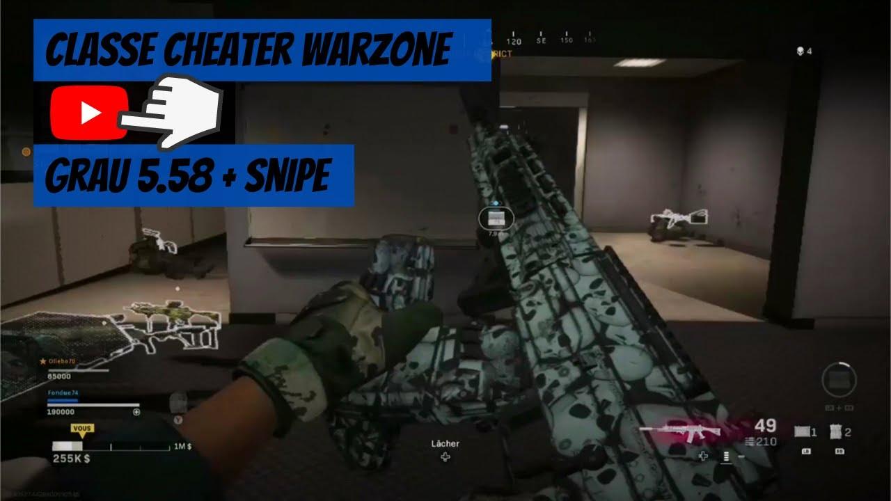 "MEILLEUR CLASSE ""DIEU"" GRAU 5.58 & SNIPE SUR WARZONE... ( Best-of COD Modern Warfare, Montage)"