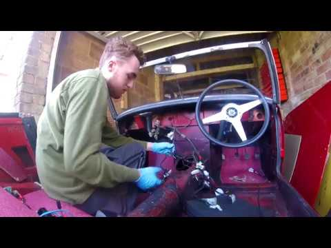 Project part 4 - Installing the main wiring loom into my MG Midget on