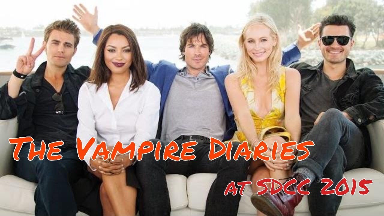 Download The Vampire Diaries @ Comic-Con 2015! Ian Somerhalder! Paul Wesley!