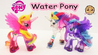 MLP Water Cuties Glitter Princess Cadance Rainbow Shimmer My Little Pony Toy Unboxing Video