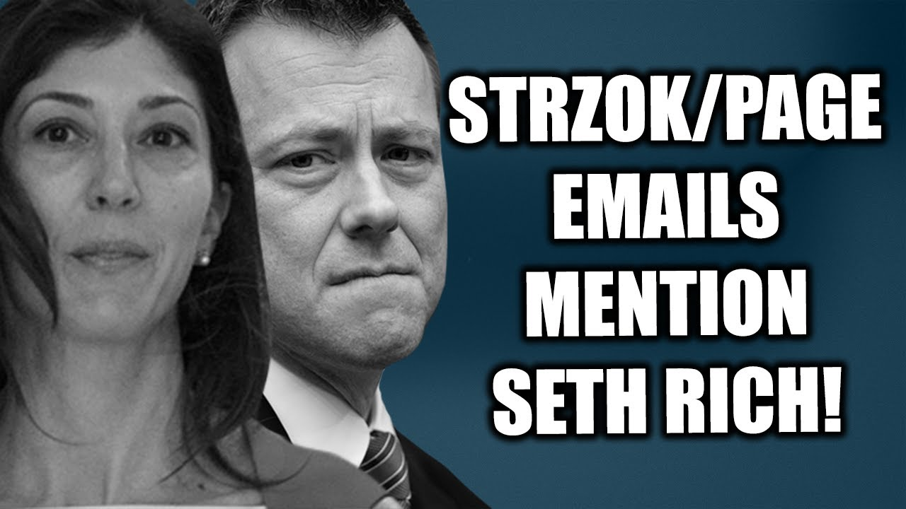 Tom Fitton: Why Were Peter Strzok & Lisa Page Talking About Murdered DNC Staffer Seth Rich? - Ju