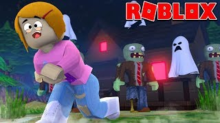 Roblox Escape The Zombie Haunted House Obby!