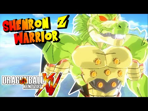 Dragon Ball Xenoverse MOD : SHENRON Z WARRIOR - EL MEJOR DRAGON DE TODO DRAGON BALL LUCHANDO !