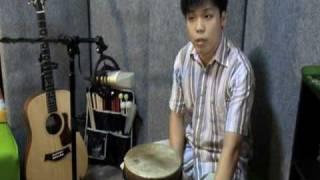 Funk Slow Rock Djembe - Contemporary Djembe 1.09 Intermediate rhythm 3