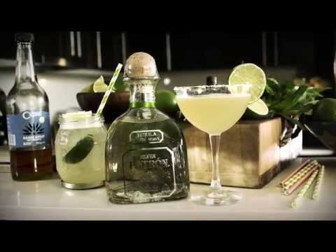 Make Patron Tequila | How to Mix Margarita | Drinks Network Snapshots
