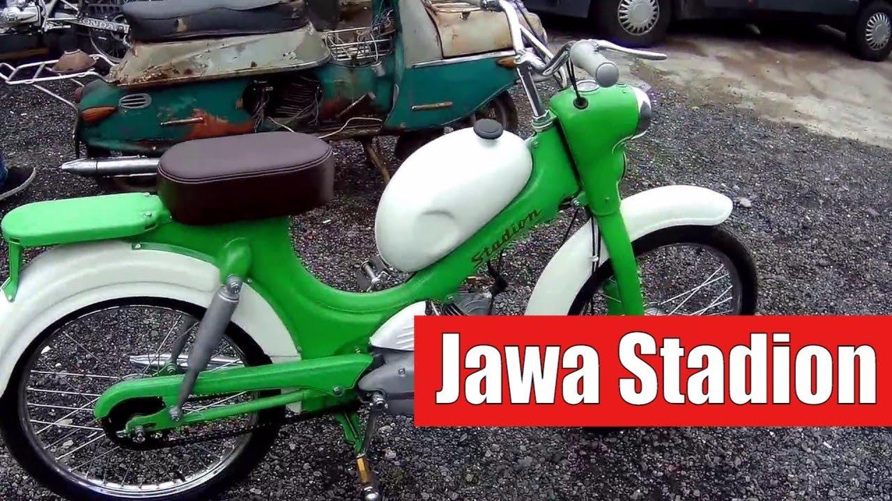 Мопед Ява Jawa Stadion. Реставрация | Автоматический Заработок с Мобильного