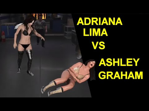 WWE Supermodel Match - Adriana Lima vs Ashley Graham