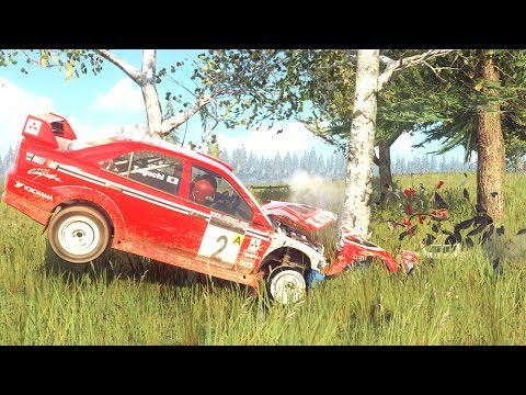 Dirt Rally 2.0 Car Crashes/Fails Compilation