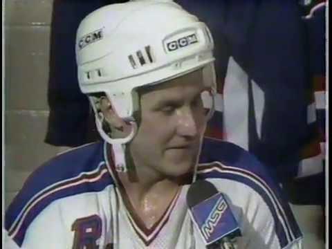 NHL: New York Rangers vs. USA National Hockey Team (9-19-1987) - Part 2