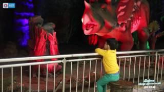 Çocuklar Türkan Saylan Kültür Merkezin'de eğlenmeye devam ediyor