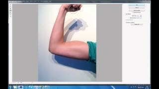 Tutorial on How to Make Your Muscles BIGER in Photoshop in 5 minutes