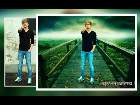 Picsart Tutorial Photo Manipulation Change Background Blending Tutorial Youtube