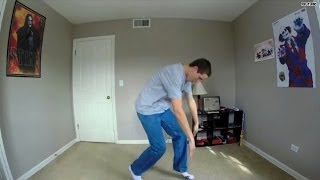 Man busts a move 100 times in 100 days
