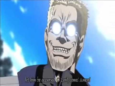 ENGRISH in Hellsing - If anyone does not love the Lord...