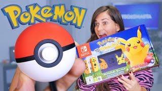 POKÉMON LET´S GO con POKEBALL REAL!! Nintendo Switch versión especial