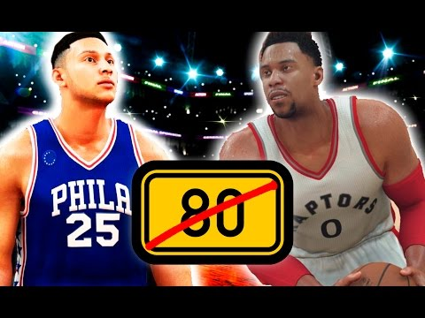What If The Entire NBA Had No Players Over 80 Overall? NBA 2K17 Challenge