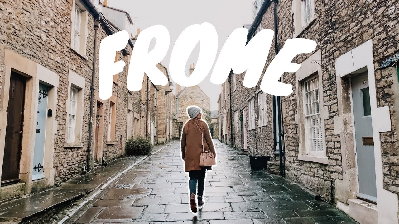 Wandering around Frome in Somerset | Things to do near Bath
