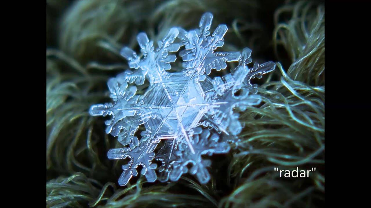 macro snowflakes youtube