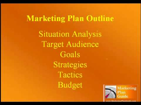 Business Plan Template Vs. Marketing Plan Template