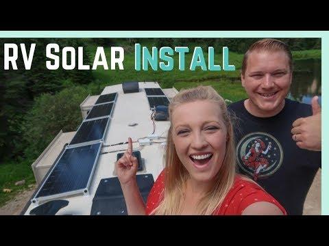 rv-solar-install-for-full-time-rv-living-boondocking!
