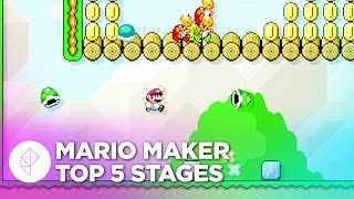 Top 5 Super Mario Maker Stages (So Far!)