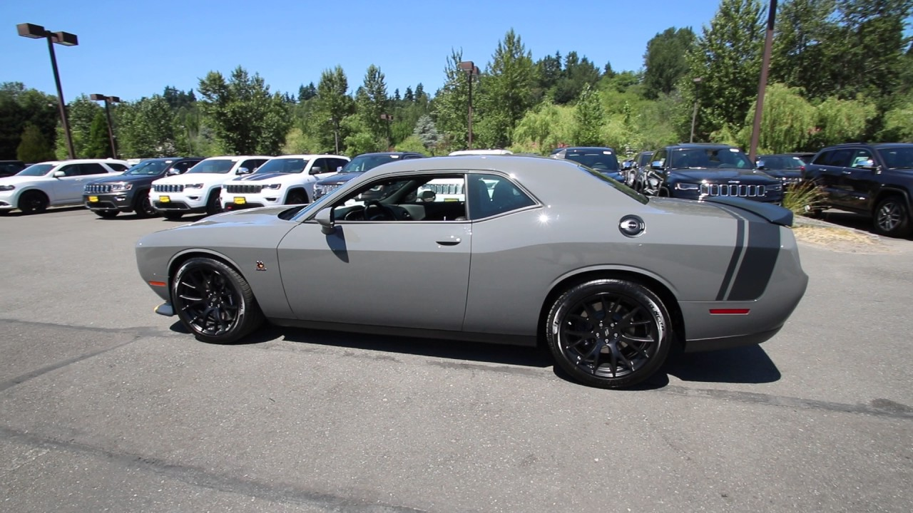 Challenger Scat Pack >> 2017 Dodge Challenger R/T Scat Pack | Gray Clearcoat ...