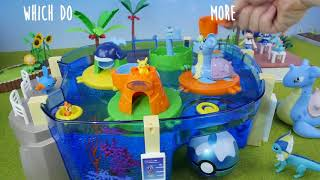 Pokemon Water Park | Candy Toys & Pokeball Bath Bomb - Surprise Toys For Kids