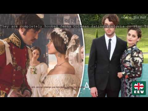 'They are completely hooked' Jenna Coleman 'dating Victoria co-star Tom Hughes'